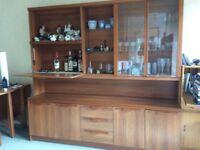 Large dining storage/display cabinet