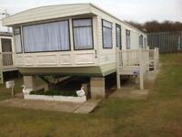 Caravan to rent on promenade Ingoldmells
