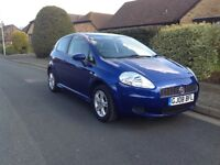 Fiat Grande Punto 1.2. Full years MOT with no advisories, 2008