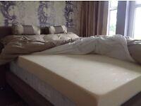 King size memory foam mattress. New
