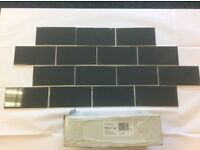 Box of 50 Ceramic Gloss Wall Tiles - 200 x 100 x 6.5mm