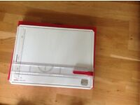 Graphics drawing board with case