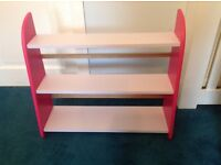 Children's book shelf or general storage shelf