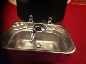 SMEV - Sink with tap for a caravan or Motorhome