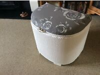 Lovely upcycled laundry basket