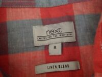 2 men's shirts from Next. Size m