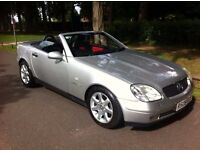 MERCEDES BENZ SLK 230 KOMPRESSOR CONVERTIBLE, AUTOMATIC, 12 MONTH M.O.T, LOW MILES, LOVELY CAR