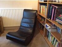 Black Leather Gaming Chair