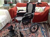 Wheelchair Karma Ergo Lite 2 Transit Wheelchair