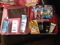 Soap and Glory case with added bits, ideal Christmas.