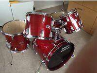 Drumworld 5 piece drum kit