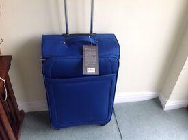 Brand new suitcase.