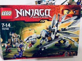 Lego Ninjago Movie Ninjago City Docks 70657 New And Sealed Box
