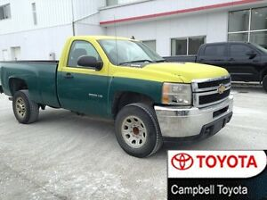 2012 Chevrolet SILVERADO 2500HD REG CAB LONG BOX 2WD WORK TRUCKS