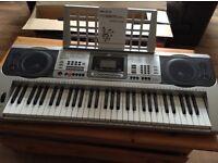 61 key electronic keyboard