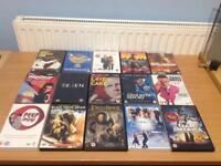 JOBLOT OF 15 ASSORTED DVDS