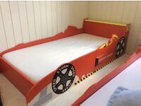"""Kids Bed with 4"""" Luxury Foam Mattress"""