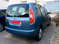 Skoda Roomster 1.6v Auto. 08 plate with low mileage
