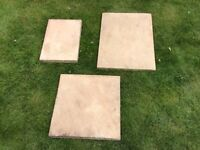 60 Bradstone Old Riven Autumn Cotswold paving slabs, 3 sizes will cover approx 12.5 sq meters