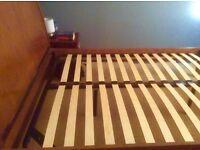 Solid wood Next Directory Kingsize Bedframe £50