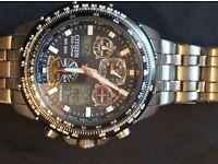 Citizen Skyhawk Atomic Timing ECO drive watch