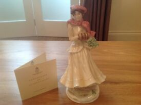 Royal Worcester Figurine (Four Seasons Collection) 'WINTER'