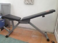 Excercise bench. Adjustable angles. Good condition.