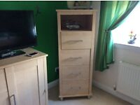 Tallboy & Chest of Drawers Beech