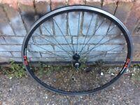 SLR Boardman 700c easy tape 16mm front bike rim for sale