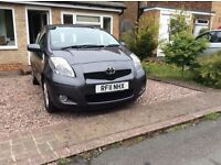 FOR SALE Toyota Yaris 2011. Grey. One careful owner. Good condition. MOT/ Service June 2017. £4,000