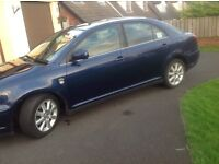 Toyota avensis taxis for sale 2005 d4d model plated till mid January 2017