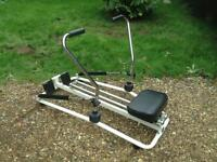 Dual Hydraulic Rowing Machine (Delivery Available)