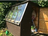 Lovely Potting Shed with built in Potting Bench