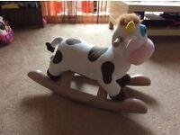 Kiddiecare rocking cow