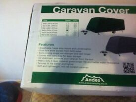 CARAVAN COVER , ( ANDES ) 19ft / 21ft , BRAND NEW IN BOX , NEVER BEEN USED .....
