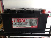 CAR BATTERY 100Ah WITH 5 YEARS GUARANTEE