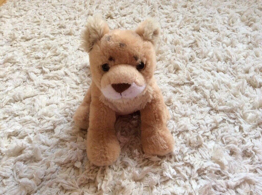 Soft lion cub toy, excellent condition