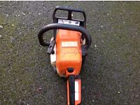 2 Stihl chainsaws. Spares or repair