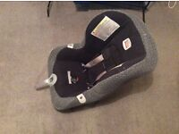 Grey/black Britax child car seat Group 0+/1 (birth to 4yrs, up to 18kg)