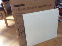 Kitchen door gloss white brand new