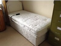 adjustable electric bed and head board