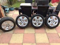 Vauxhall 16 inch alloy wheels