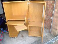 John Lewis desk cabinet