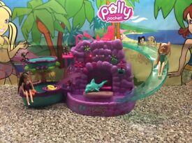 Polly Pocket Waterfall Set