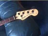 Bass Guitar Fender P Bass New Neck