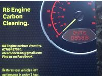 Engine carbon cleaning. £80.00