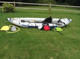 "Sports Kayak (White Water) ""Sea Eagle FastTrack 465"" 2/ 3 person with all accessories £900 ono"