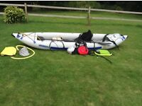 """Sports Kayak (White Water) """"Sea Eagle FastTrack 465"""" 2/ 3 person with all accessories £900 ono"""