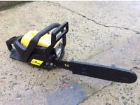 McCullough Mac 335 petrol chainsaw. 14 inch bar. Very clean rarely used