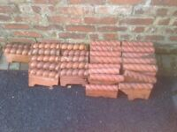 Rope twist edging in terracotta for paths and gardens
